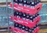 Diablito de carga, exhibidores, anaquel, para: refresco, jugo, bebida, y botella gral