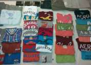Playeras hollister abercrombie & fitch aeropostal