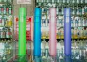 Perfumes contratipos de 8 ml. (el precio es x 4 pz.)