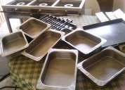 Mesa caliente para 6 guisos