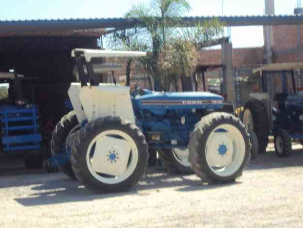 tractor FORD 7610  año 1998