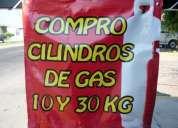 Compro cilindros de gas de 10 y 30 kg