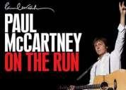 Vendo 5 boletos para paul mccartney cancha estadio azteca 8 de mayo 2012