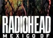 Vendo boletos para radiohead