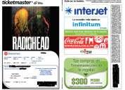 Boleto gral-a para radiohead!!