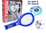 Tenis / ping pong interactivo wii, incluye hasta 39 juegos mas!