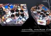 Control arcade custom - para pc, ps1 y ps2