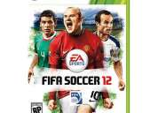 Xbox fifa 12 me llegan 10 el martes 27 de septiembre
