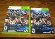 Xbox rockband 3 juego original