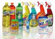 Curso para fabricar productos de limpieza para: el auto, hogar, de belleza y comestibles