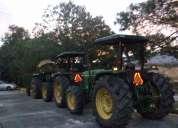 Renta de tractores con desbrozadora