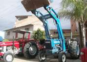 Tractor ford 5000 con pala