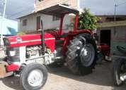 tractor massey ferguson 185 con 3 discos, trabajando