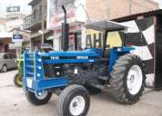 Tractor new holland 7610, año 1996.