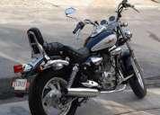 Gran oportunidad vendo preciosa motocicleta vento gladiador y accesorios