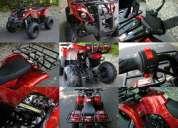 Cuatrimoto nueva, 125 cc, motor de 4 tiempos, con reversa **oferta** $ 16,900.00