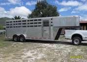 Remolque para caballos de aluminio