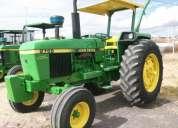 Tractor  jhon deere 2755 4x2  y tractor jhon deere 5715