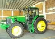 Tractor john deere 7625, 4x4 año 2011