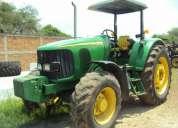 Tractor john deere 6415 4x4 año 2008.