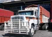 Dina 861 caja frutera de 13 velocidades motor cumis 350