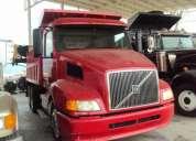 camion volvo año  1998 precio 360,000 volteo de 14