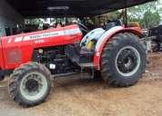 Tractor massey ferguson 575 y martillo para excavadora