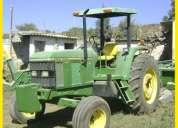 tractor john  dere 6400  4x2 1999  de 110 hp    precio 220,000