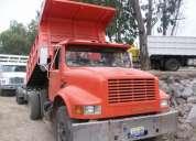 Camiones volteo de 7 y 14 metros listo para trabajar