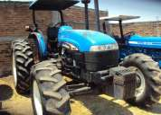 tractores new holland tb120 y ford 7600
