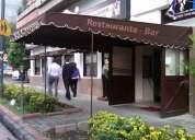 Cambio hermoso restaurante bar en d.f. por casa o depa