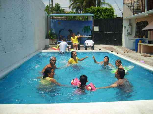 Oaxtepec todo el hotel para 32 personas alberca terraza 3 for Alberca para 8 personas