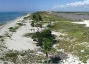 Vendo terreno con frente de playa en riviera maya