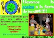 Fiestas infantiles guadalajara  party chef, fiesta chef