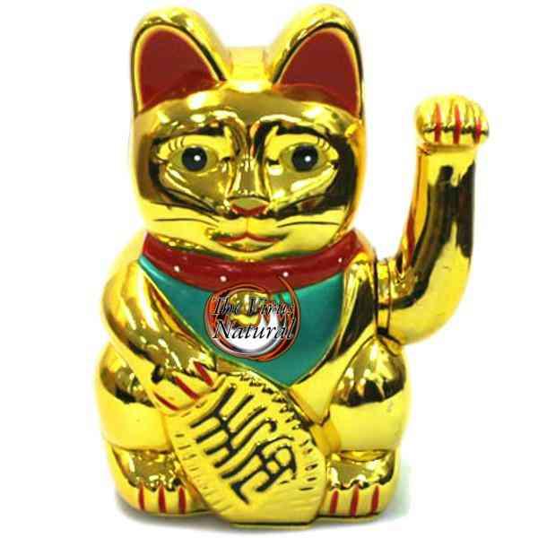 Gato chino de la buena suerte atrae clientes y dinero - Eliminar la mala suerte ...