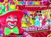 Payasos para fiestas infantiles en ixtapaluca