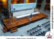Alquiler renta de gradas y templetes entarimados pasarelas 56406307