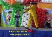 Payaso patotas un show para fiestas y eventos de todo tipo