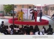 Circo para escuelas con o sin carpa