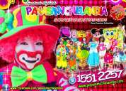 Payasos para fiestas infantiles en tlalnepantla