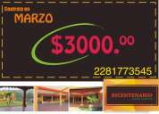 Salón bicentenario campestre,, $3000 por promoción