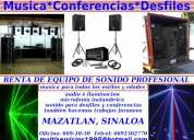 Fiestas, conferencias, desfiles, after party,dj's