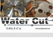 Corte por plasma y con agua
