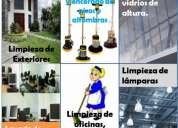 Personal de limpieza para casas, colegios y oficinas
