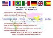 Traducciones y migracion