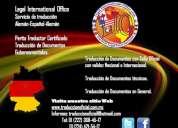 Perito traductor certificado francÉs-espaÑol-frances