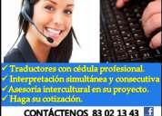 IntÉrpretes y traductores profesionales de espaÑol-alemÁn/alemÁn-espaÑol