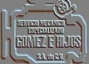 Mecanico diesel gasolina y gas en general