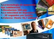 Impresoras de credenciales y tarjetas de pvc fargo