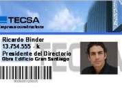 Impresión de credenciales de identificacion